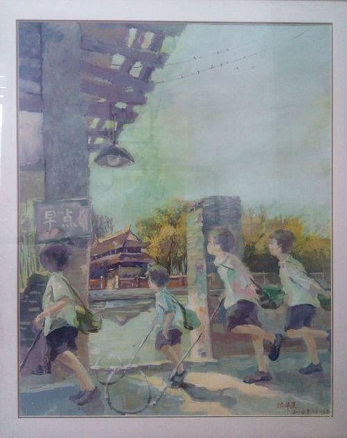 """滁州市庆""""七一 """"美术作品网络展"""
